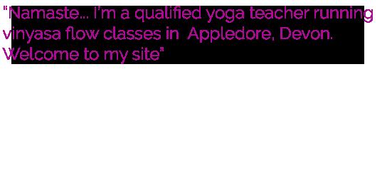 Rachel Pook Yoga Classes in North Devon